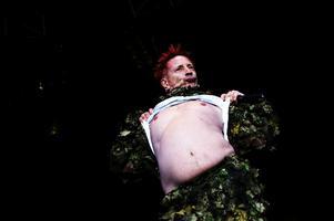 Johnny Rotten hade ryggvärk när han uppträdde på Peace & Love, vilket påverkade hans humör berättar Roger.