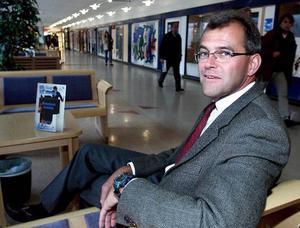 Kjell Jönsson, numera sjukhuschef i Enköping, vill också bli kommunchef i Strömsund.Foto: stefan ahlbom