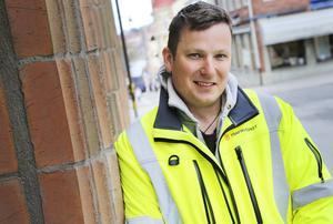 Pär Eliasson, projektledare på underhåll belagd väg på Trafikverket i Östersund.