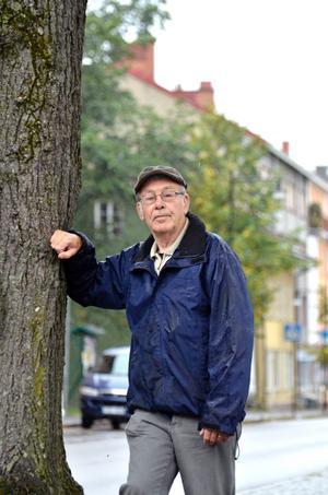 Ulrik Jansson fick årets pris av Lokalhistoriska sällskapet.ARKIVBILD: GÖRAN KEMPE