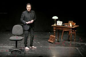 Thorsten Flinck i sin avskalade föreställning