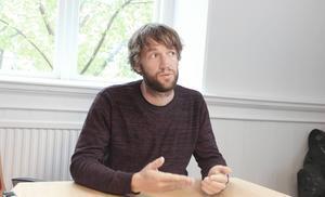 Simon Nilsson,tillförordnad chef för ambulansen