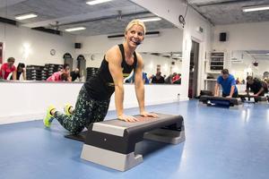 Anna Hammarström är träningskoordinator vid Bollnäs kommuns sporthallar och arbetar mot dopning genom metoden 100% ren hårdträning.