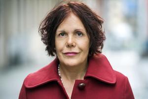 Författaren Christina Hesselholdt vars roman