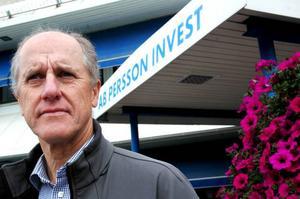 Bob Persson, vd för Persson Invest, beklagar på det sätt som Jim Johansson fick uppsägningsbeskedet.Foto: Hans-Råger Bergström