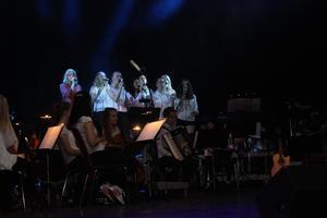 Kulturskolans vokalensemble.