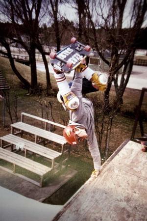1985. En skate-pose som Kennet var ensam om.
