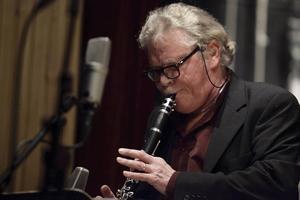 Solist: Krister Andersson, klarinett. Bilden är tagen vid ett annat tillfälle.