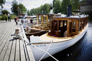 Barkens ångbåtar. Foto: Maria Hansson/Arkiv