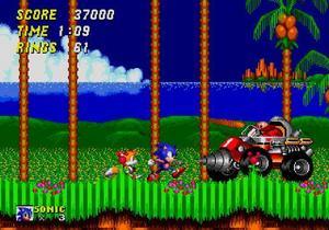 """I nya """"Sonic Classic Collection"""" handlar det fortfarande om underhållande plattformsaction av klassiskt snitt."""