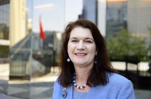 EU- och handelsminister Ann Linde (S) vill inte svara på frågor om Transportstyrelsen.