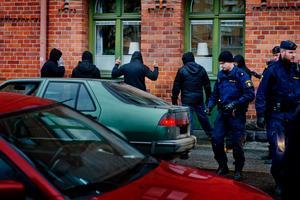 Polistillslag mot de kriminella gängen Black Cobra och Romanos MC den 27 november 2013.