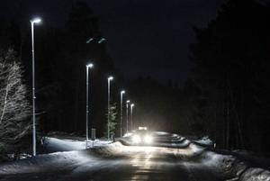 I år och kommande år kommer Strömsunds kommun satsa cirka 16 miljoner kronor på byte till miljövänlig gatu- och vägbelysning.