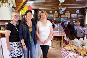 Mona Carlsson, Elisabeth Nordahl och Anette Berg sitter med i styrelsen och anordnar Sikforsdagen.
