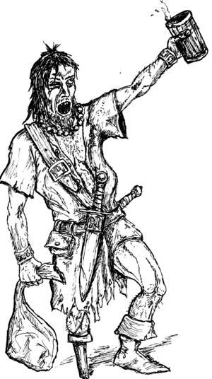 En typisk karaktär: Kapten Anselm Svettbjörn.