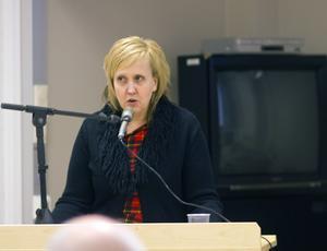 Susanne Berger är en av fyra Socialdemokrater närvarat på alla fullmäktigesammanträden.