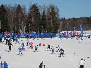 Lilla Skidspelen på Lugnet 2017