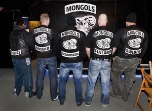Kan bli stoppade. Mongols MC har etablerat sig i trakten, men svårt att komma in med västarna på på många av Västerås krogar och barer.Foto: Rune Jensen