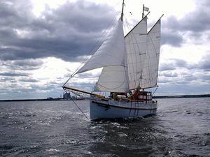 Gävle Sjöscouters skuta s/y Nordan ligger på Skeppsholmen i Stockholm för att visa upp svensk sjöscouting under Volvo Ocean Race. Allmänheten är välkommen ombord. Nordan kommer även att vara med under Gävle Marinfestival.