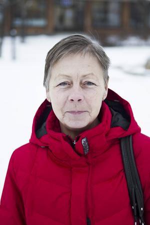 Yvonne Nilsson 58 år, Hudiksvall– Folk som står vid övergångsstället när de inte ska gå över.
