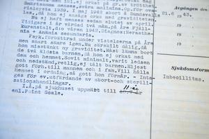 Mellan 1943 och 1950 steriliserades 140 kvinnor som vårdades på Sidsjöns sjukhus. Många vara bara i 20-årsåldern.