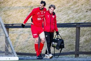 Ahmad Khreis nickade in 2–0. I andra halvlek tvingades anfallaren utgå på grund av skada.