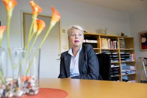 – En orsak till att vi får såna här toppar med överbeläggningar är att vi inte kan ha alla våra fasställda vårdplatser öppna, säger vårdområdesdirektör Karin Rapp.