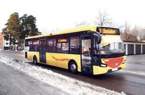 KR Trafiks ägare Gunnar Sahlén ska genom fler chaufförer och bussar få busstrafiken i Sandviken och Gästrikland att bli en av Sveriges bästa.