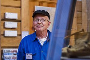 Bosse Nilsson är en av initiativtagarna till föreningen Loosgrufvan. För 25 år sedan var han 43 år gammal.