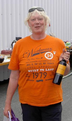 Bästa dam blev Susanna Karlsson med 1050 gram fisk.