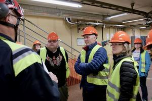 200 personer besökte Svegs kraftstation i söndags när Fortum bjöd in till öppet hus.