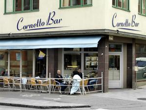 Fuskade? Cornetto Bar misstänks ha sålt svarta luncher.Foto: Yngve Fredriksson/VLT Arkiv