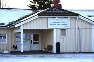 Filialen i Trehörningsjö tar emot patienter en dag i veckan.