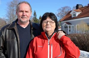 Lars Andersson och hustrun Margareta är överens om att det är ett mirakel att Lars överlevde sjukdomen.