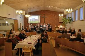 Jubileumsfest. Det var fullsatt inne på Missionskyrkan i Askersund när EFS Missionsförening firade 150 år.Foto: Jonas Herbertsson
