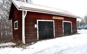 Söderbärkes äldsta brandstation var bara en bod att ställa in utrustning i.