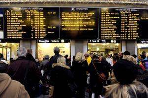 Tågkaos. Avregleringen har enligt Clas Lundberg försämrat tågtrafiken.foto: scanpix