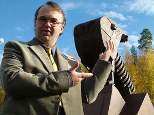 Olle Jonsson och hans praktverk Jätten Bock.