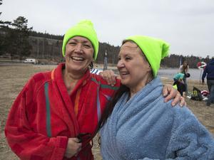 Årets tappraste vårdoppare: Maria Stål Sundqvist, Sundsvall, och Ing-Mari Åslund, Hemmanet.