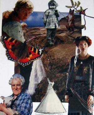 Collage av Susanne Fängström.