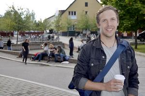 Niklas Wallner, journaliststudent.