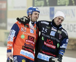 Mikael Jernberg (till vänster) är klar för sin tredje sejour i Falu BS.