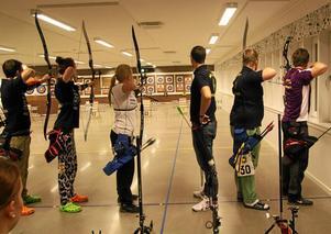 Populär tävling. Bågskyttetävlingen Tomtapilen avgjordes i söndags, och är Järnvägens bågskytteförenings största inomhustävling under året.