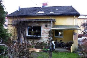 Det hus Sixten Hamberg köpte 1945 står kvar än i dag, skrev vlt 2002.