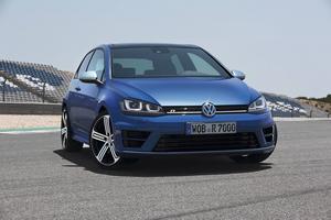 Volkswagen Golf R.   Foto: Volkswagen