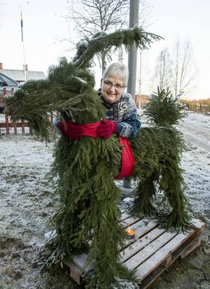 Linnéa Kjellman är en av eldsjälarna bakom Jul i Bölom.