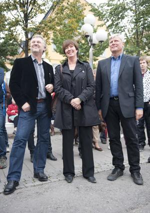 Hur blir det nu?  Rödgröna i inför valet 2010. Foto: Scanpix