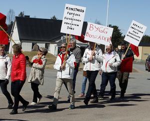 Konstgräs, nya bostäder och lokalt inflytande över Sonfjällets nationalpark fanns bland årets lokala budskap.