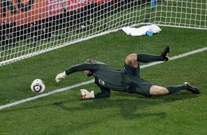 Englands målvakt Robert Green gör VM:s hittills största målvaktstavla i matchen mot USA.