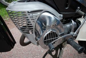 Ömt vårdad moped från 1964.